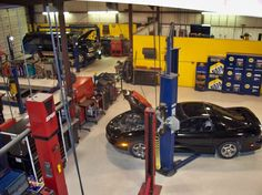 Looking Around In Our Shop at Equipment, Service Area
