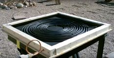 A DIY Flat Panel Solar Water Heater