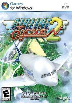 Airline Tycoon 2 - Economic Plane Management Simulator Airport Flight PC NEW