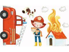 Les Pompiers - Acte-Deco