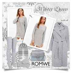 """""""Winter Queen"""" by yvette-sch ❤ liked on Polyvore featuring Kaisercraft, Lauren Ralph Lauren, Burberry, Balmain and Chloé"""