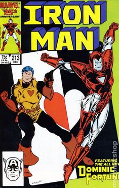 Iron Man (1968 1st Series) 213