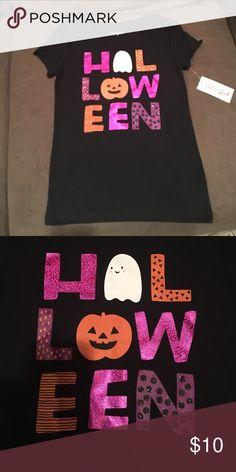 Halloween glittery tshirt Brand new Halloween glittery tshirt from Cat and Jack Cat and Jack Shirts & Tops Tees - Short Sleeve