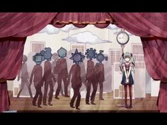 【初音ミク(40㍍)】 からくりピエロ 【オリジナルPV】