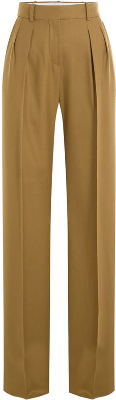 Max Mara Wide Leg Virgin Wool Pants Wool Pants, Wide Leg, Khaki Pants, Legs, Max Mara, Stylish, Shopping, Women, Fashion
