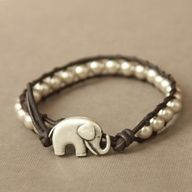 just like mine but my pearls are tan. lucky elephant