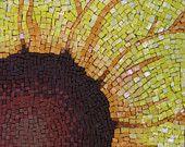 Sunflower Fine Art Mosaic