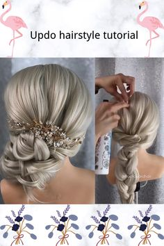 "Easy Updo Tutorial  with Dragon Queen Synthetic Lace Front Wig  💰Use code ""PIN"" to save 50% OFF $$ #FoxWigs #lacefrontwig#wigs#lacefrontal #blondehair  #blondehairdontcare#hairgoals#hairblonde #blonde⁣ #beauty#hairstylesforgirls#hairinspo#hairgoals #hairtutorial#hairvideos#hairvideos #hairvidz#howtobraid#braidtutorial#updo #updotutorial"