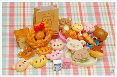 re ment rilakkuma bakery - Google Search  Really, really CUTE!!!
