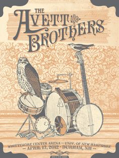 Date: April 17, 2012 | Venue: Whittemore Center Arena at University of New Hampshire, Durham, NH | Artist: Justin Helton/Status Serigraph