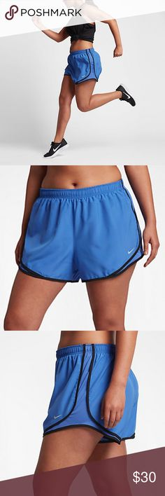 Nike dry tempo running shorts NWT Nike dry tempo running shorts. Dri fit material with inner briefs and hidden inner pocket. Nike Shorts