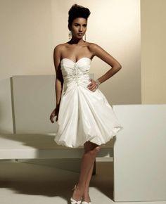 Style MBDS1047 - Short Wedding Dress - My Bridal Dress online Store