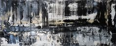 Eternity by Holly Anderson - What I like about Anderson's work are the bold, striking and vibrant markings and textures she creates within each piece