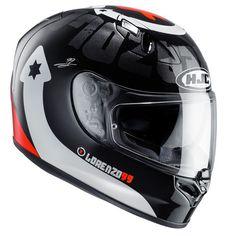 Casco da Moto Integrale HJC HELMETS FG-ST LORENZO DEVIL 99 MC-1