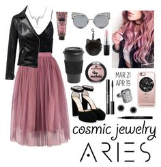 """Aries ♈"" by geibrielelfrance ❤ liked on Polyvore featuring Ringly, Bling Jewelry, Casetify, Jimmy Choo, Givenchy, Victoria's Secret, MAC Cosmetics, Fendi, Homage and Marc Jacobs"