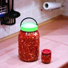 kimchi w słoju