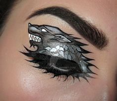 Game of Thrones Eye Makeup