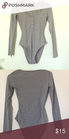 bodysuit from ASOS worn once. i think it fits like a 4. Tops Tees - Long Sleeve
