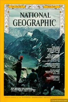 1968 - 05 - May / National Geographic Photography / Covers