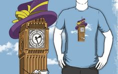 Elizabeth Tower TEES SHIRTS