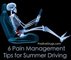 6 Pain Management Tips for Summer Driving