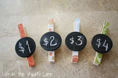 Craft show price clips