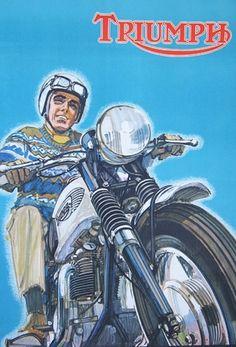 2d150e9429 277 Best Vintage Triumph Motorcycles images