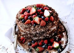 The Best Dessert Recipes Of All Time (PHOTOS) Click on each recipe title for recipe (this chocolate and strawberry cake recipe is available in English as well).