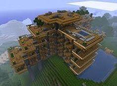 Captivating Hillside Manor Map For Minecraft