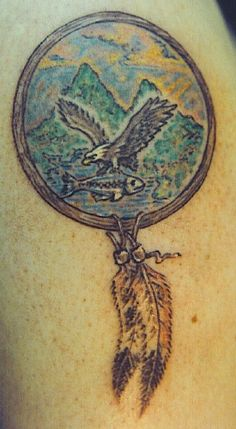 These used to be quite popular in the Pacific NW yrs ago. City Tattoo, Tattoo Shop, Trout, Dream Catcher, Eagle, Charmed, Popular, The Originals, Tattoos