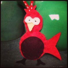 Felt Bird.  Handmade by Robinson&Co
