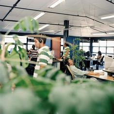 interesting photo series of mundane desk jobs