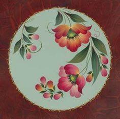 Samples Maureen McNaughton Brush Strokes Painting, One Stroke Painting, Fabric Painting, Painting On Wood, Norwegian Rosemaling, Tole Painting Patterns, Boat Art, Color Magic, China Painting
