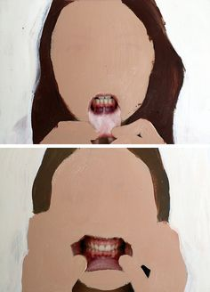 Rosanna Jones - painting over photographs. a bit disturbing yet captivating. Art Painting, Art Photography, Fine Art, Art Inspo, Drawings, Art Projects, Illustration Art, Art, Collage Art