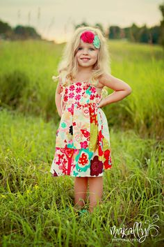 PDF Apron Knot Dress Sewing Pattern Sizes 3m - Girls 8. $7.00, via Etsy.#Repin By:Pinterest++ for iPad#