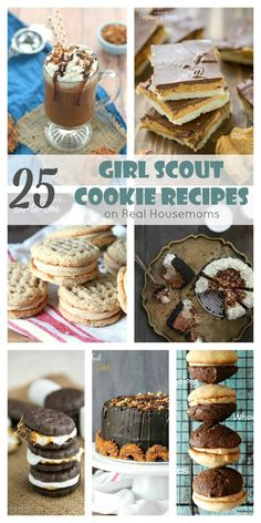 25 Girl Scout Cookie Recipes on Real Housemoms