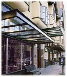 glass awning - Bing Images