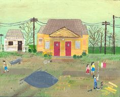 House on Masters Street 3 - Esther Pearl Watson