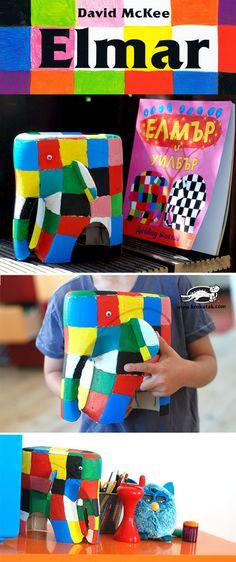Elmar les éléphants enfants artisanat