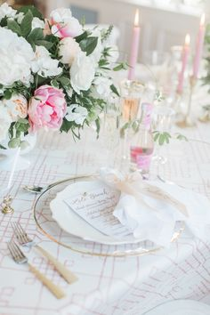La Tavola Fine Linen Rental: Charles Pink | Photography: Meredith Jane Photography, Planning & Design: Always Yours Events, Floral Design: The Wild Dahlia, Paper Goods: Amanda Day Rose, Venue: The Dennis Inn, Tabletop Rentals: Be Our Guest, Rentals: True North Rentals
