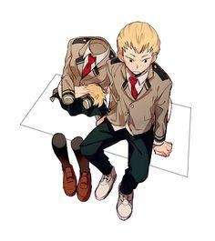 Anime | My Hero Academy | Tooru Hagakure x Mashirao Ojiro