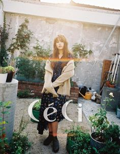 Kwon Jin Ah gives off a sweet, vintage vibe in 'CeCi' shoot | allkpop.com