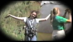 A picture of Rachel about to bungee jump. Rachel Scott, Natural Born Killers, I Can, Something To Do, Fishing, Concert, Gallery, Roof Rack, Concerts
