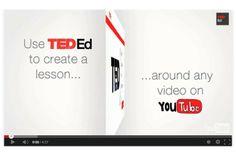 """Flippat material på http://ed.ted.com/ .  De har en spännande slogan: """"Create Lessons Worth Sharing around YouTube videos - Find & Flip"""". Se mer här: http://www.youtube.com/watch?v=ncqVw1sx-04 Undrar om det är många lärare som greppat möjligheten? Kan det finnas ett motstånd att """"ta"""" någon annans film och bygga ett flippat material med frågor etc kring någon annans material...?"""