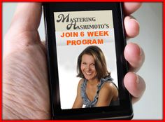 "In 6-Week Program ""Mastering Hashimoto's: From Triggers To Solutions"" you will learn what were and are YOUR triggers to Hashimoto's and hypothyroidism http://outsmartdisease.com/thyroid-healing-program"