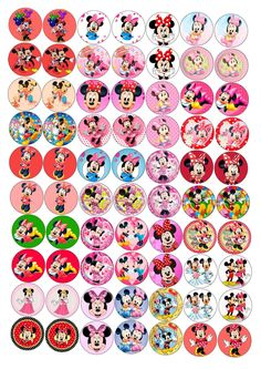 Mickey Mouse Birthday, Minnie Mouse Party, Mouse Parties, Bottle Top Crafts, Bottle Cap Projects, Mickey Mouse Crafts, Mickey Minnie Mouse, Movie Crafts, Diy And Crafts