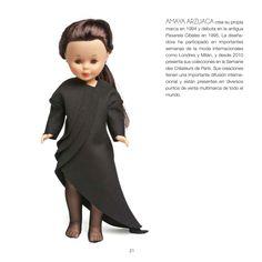 La #muñeca #Nancy vestida por Amaya Arzuaga #poupée #doll #moda #fashion