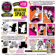 """155 Likes, 2 Comments - The Etherington Brothers (@etheringtonbrothers) on Instagram: """"Here's PART TWO of my how to THINK when you draw NEGATIVE SPACE tutorial for #LEARNUARY! TUTORIALS…"""""""