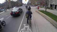"""Incidents of """"dooring,"""" when a cyclist is hit by an opening car door, are on the rise in Toronto, says a cycling advocacy group, which is calling on the city to address the problem in its road safety plan. Door Prizes, City Streets, Toronto, Cycling, How To Plan, News, Safety, Posts, Group"""
