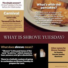 Shrove Tuesday, Carnival, Mardi Gras...